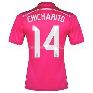 Camiseta nueva del Real Madrid 2014/2015 Equipacion Chicharito Segunda