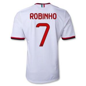 Camiseta AC Milan Robinho Segunda Equipacion 2013/2014