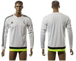 Training Top de Real Madrid Blanco Europe Long Sleeve