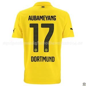 Camiseta nueva del Borussia Dortmund 14/15 Aubameyang Tercera