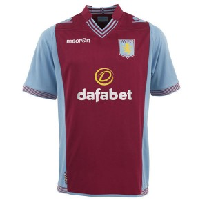Camiseta Aston Villa Primera Equipacion 2013/2014