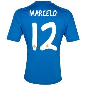 Camiseta Real Madrid Marcelo Segunda Equipacion 2013/2014