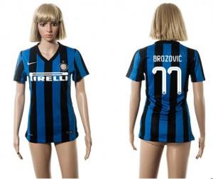 Camiseta nueva Inter Milan Mujer 77 2015/2016