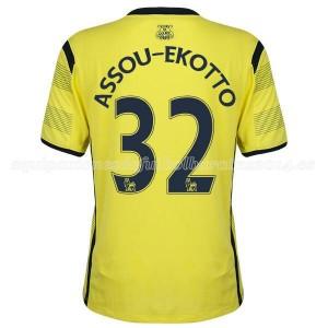 Camiseta de Tottenham Hotspur 14/15 Tercera Assou Ekotto