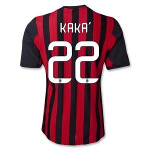 Camiseta nueva del AC Milan 2013/2014 Equipacion Kaka Primera