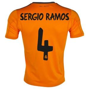 Camiseta del Sergio Ramos Real Madrid Tercera 2013/2014