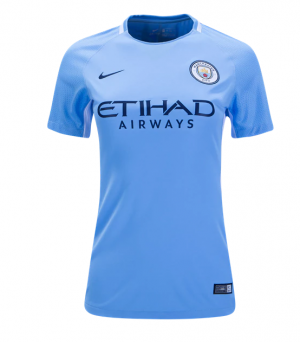 Mujer Camiseta del Manchester City Primera Equipacion 2017/2018