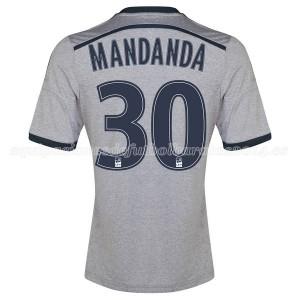 Camiseta nueva Marseille Mandanda Segunda 2014/2015
