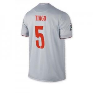 Camiseta nueva del Atletico Madrid 2014/2015 Equipacion TIAGO Segunda