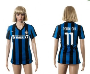 Camiseta nueva del Inter Milan 2015/2016 11 Mujer