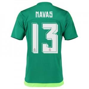 Camiseta de Real Madrid 2015/2016 Segunda Numero 13 NAVA Equipacion