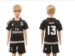 Niños Camiseta del goalkeeper 13 Real Madrid 2015/2016