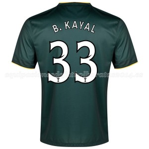 Camiseta de Celtic 2014/2015 Segunda B.Kayal Equipacion
