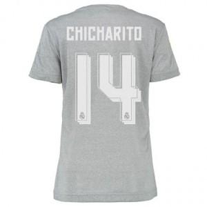 Camiseta de Real Madrid 2015/2016 Segunda CHICHARI Equipacion Mujer