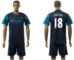 Camiseta nueva Manchester City 18# Away