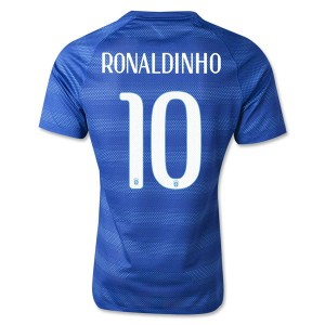 Camiseta del Ronaldinho Brasil de la Seleccion Segunda WC2014