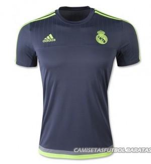 Camiseta del Negro Real Madrid Entrenamiento 2015/2016