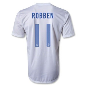Camiseta del Robben Holanda Segunda 2013/2014