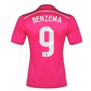 Camiseta del Benzema Real Madrid Segunda Equipacion 2014/2015