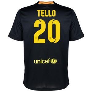 Camiseta del Tello Barcelona Tercera Equipacion 2013/2014