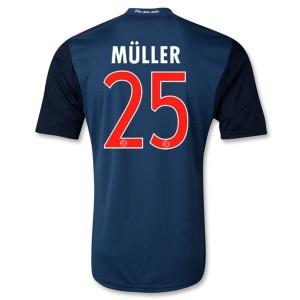 Camiseta nueva Bayern Munich Muller Equipacion Segunda 2013/2014