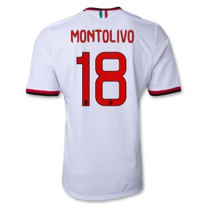 Camiseta nueva del AC Milan 2013/2014 Equipacion Montolivo Segunda