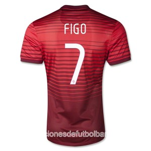 Camiseta del Figo Portugal de la Seleccion Primera 2013/2014