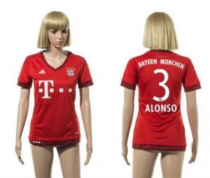 Mujer Camiseta del 3 Bayern Munich 2015/2016