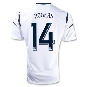 Camiseta de Los Angeles Galaxy 2013/2014 Primera Rogers