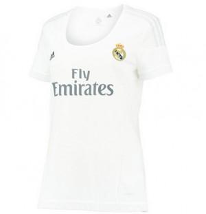 Camiseta nueva del Real Madrid 2015/2016 Equipacion Mujer Tailandia Primera