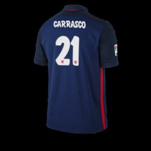 Camiseta de Atletico Madrid 2015/2016 Segunda CARRASCO Equipacion