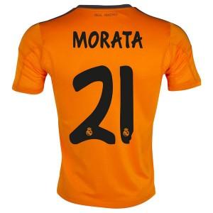 Camiseta nueva Real Madrid Morata Equipacion Tercera 2013/2014