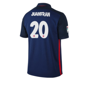 Camiseta nueva Atletico Madrid JUANFRAN Equipacion Segunda 2015/2016