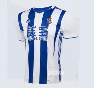 Camiseta nueva Real Sociedad Primera 2016/2017