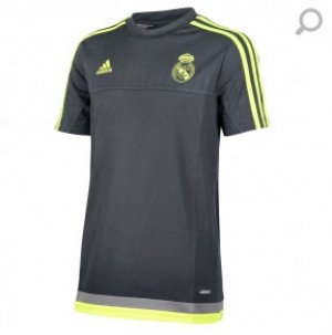 Camiseta Training Real Madrid Junior Gris 2015/2016