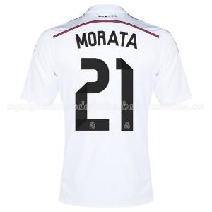 Camiseta Real Madrid Morata Primera Equipacion 2014/2015