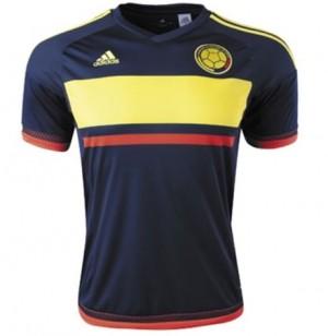Camiseta nueva del Colombia 15/16 Tailandia Segunda