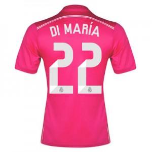 Camiseta nueva del Real Madrid 2014/2015 Equipacion Di Maria Segunda