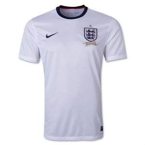 Camiseta nueva Inglaterra de la Seleccion Primera 2013/2014
