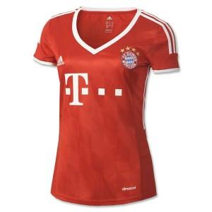 Camiseta nueva Bayern Munich Mujer Equipacion Primera 2013/2014