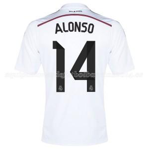 Camiseta nueva Real Madrid Alonso Equipacion Primera 2014/2015