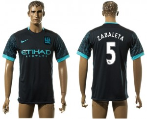 Camiseta de Manchester City Away 5# aaa version