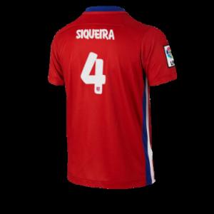 Camiseta nueva Atletico Madrid SIQUEIRA Equipacion Primera 2015/2016