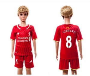 Niños Camiseta del 8 Liverpool 2015/2016