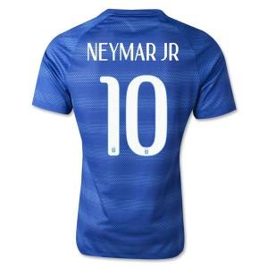 Camiseta nueva Brasil de la Seleccion Neymar JR Segunda WC2014
