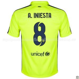 Camiseta Barcelona A.Iniesta Tercera 2014/2015