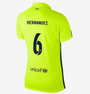 Camiseta nueva Barcelona Mujer Equipacion Segunda 2013/2014