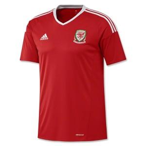Camiseta del Gales 2016/2017