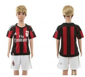 Camiseta AC Milan 2015/2016 Niños
