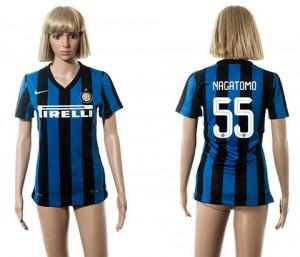 Camiseta Inter Milan 55 2015/2016 Mujer